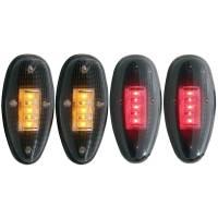 ANZO USA - ANZO USA LED Dually Fender Lights 861080 - Image 1