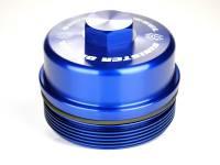 Sinister Diesel - Sinister Diesel Sinister Diesel Billet Blue Cap Kit for Ford 6.0L SD-BCK-6.0