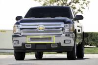 T-Rex Grilles - T-Rex 2011-2014 Silverado HD  Upper Class STAINLESS POLISHED BUMPER 55114 - Image 1