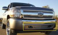 T-Rex Grilles - T-Rex 2007-2013 Silverado 1500  Upper Class STAINLESS POLISHED BUMPER 55110 - Image 1