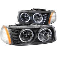 ANZO USA - ANZO USA Crystal Headlight Set w/Halo 111207 - Image 1