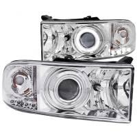 ANZO USA - ANZO USA Projector Headlight Set w/Halo 111056 - Image 1