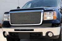 T-Rex Grilles - T-Rex 2007-2010 Sierra HD  SPORT  STAINLESS CHROME Grille 44206 - Image 1