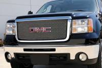 T-Rex Grilles - T-Rex 2007-2010 Sierra HD  SPORT  STAINLESS CHROME Grille 44207 - Image 1