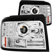 ANZO USA - ANZO USA Projector Headlight Set w/Halo 111183 - Image 1