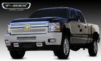 T-Rex Grilles - T-Rex 2011-2014 Silverado HD  Upper Class STAINLESS POLISHED Grille 54114 - Image 1
