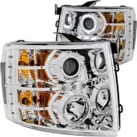 ANZO USA - ANZO USA Projector Headlight Set w/Halo 111199 - Image 1