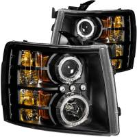 ANZO USA - ANZO USA Projector Headlight Set w/Halo 111200 - Image 1