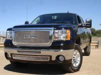 T-Rex Grilles - T-Rex 2007-2010 Sierra HD  Upper Class STAINLESS POLISHED Grille 54206 - Image 1