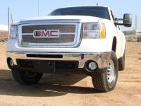 T-Rex Grilles - T-Rex 2007-2010 Sierra HD  Upper Class STAINLESS POLISHED Grille 54207 - Image 1