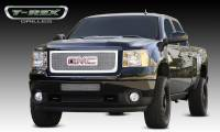 T-Rex Grilles - T-Rex 2011-2014 Sierra HD  Upper Class STAINLESS POLISHED Grille 54210 - Image 1