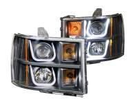 ANZO USA - ANZO USA Projector Headlight Set 111284 - Image 1