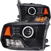 ANZO USA - ANZO USA Projector Headlight Set w/Halo 111159 - Image 1