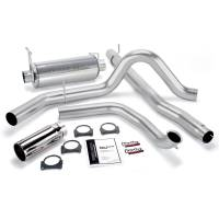 Banks Power - Banks Power Monster Exhaust System, Single Exit, Chrome Round Tip 48657 - Image 1