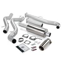 Banks Power - Banks Power Monster Exhaust System, Single Exit, Chrome Tip 48628 - Image 1