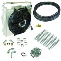 BD Diesel - BD Diesel Xtrude Double Stacked Transmission Cooler Kit - Universial 1/2in Tubing 1030606-DS-12 - Image 1