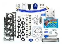Sinister Diesel - Sinister Diesel Ford 6.0L Complete Solution Package EGR Delete Kit With Coolant filter MKM-6.0-CS-CF - Image 1