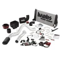 Banks Power - Banks Power Big Hoss Bundle, Complete Power System with Single Exhaust, Black Tip 47798-B - Image 1