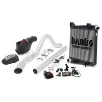 Banks Power - Banks Power Big Hoss Bundle, Complete Power System with Single Exhaust, Chrome Tip 46162 - Image 1
