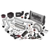 Banks Power - Banks Power Big Hoss Bundle, Complete Power System with Single Exhaust, Black Tip 47718-B - Image 1