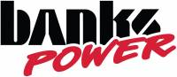 Banks Power - Banks Power Big Hoss Bundle, Complete Power System with Single Exhaust, Black Tip 46039-B